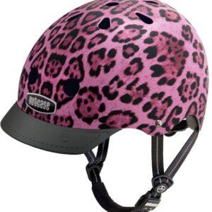 Cykelhjelm Nutcase GEN3 Street Pink Cheetah
