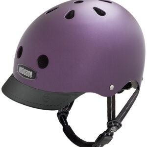 Cykelhjelm Nutcase GEN3 Super Solids - Passion Purple
