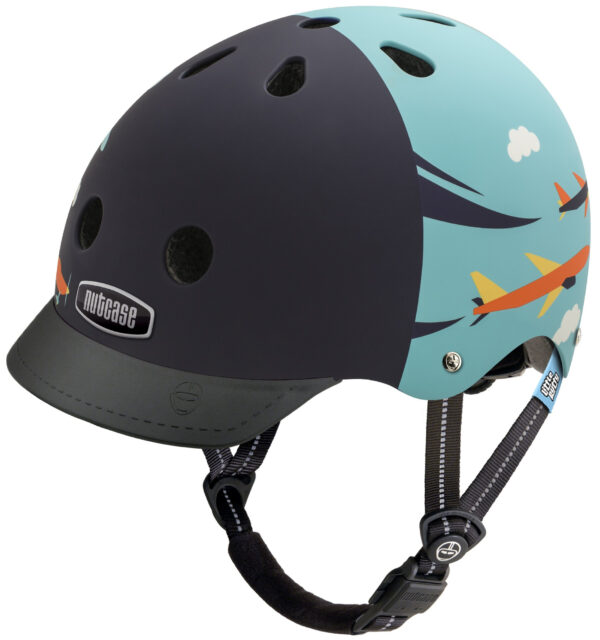Cykelhjelm Junior Nutcase Little Nutty GEN3 - Sky Flyer, XS (48-52 cm)