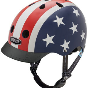 Cykelhjelm Junior Nutcase Little Nutty GEN3 - Stars & Stripes, XS (48-52 cm)