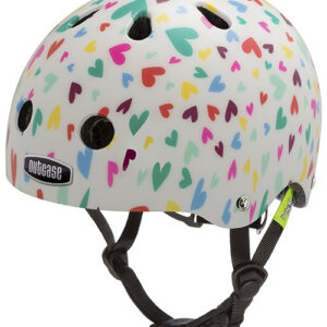 Cykelhjelm Nutcase BABY Nutty, Happy Hearts, 47-50 cm (XXS)
