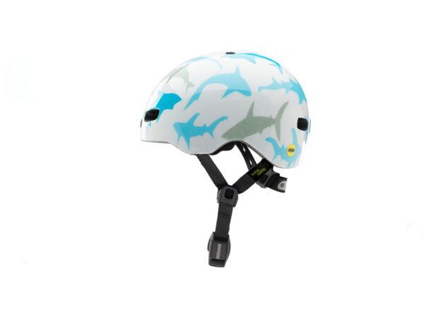 Nutcase - Baby Nutty MIPS - Cykelhjelm med skaterlook - Baby Shark Gloss - 47-50 cm