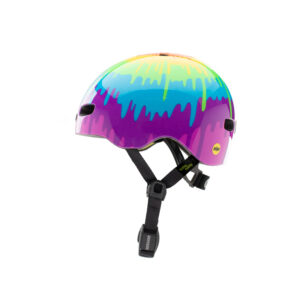 Nutcase - Baby Nutty MIPS - Cykelhjelm med skaterlook - Tie Dye Gloss - 47-50 cm