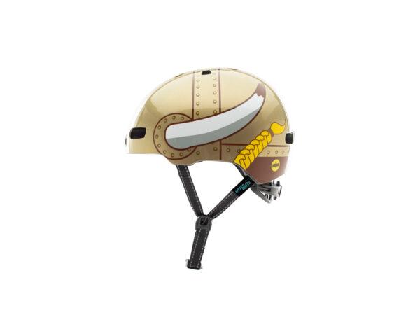 Nutcase - Little Nutty MIPS - Cykelhjelm med skaterlook - Vikki King Gloss - 48-52 cm