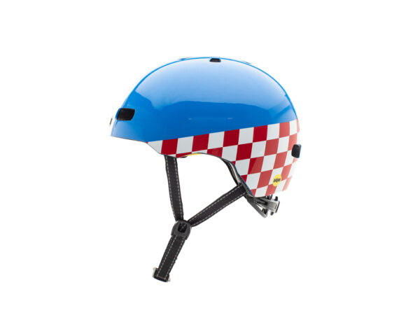 Nutcase - Street MIPS - Cykelhjelm med Skaterlook - Check Me Gloss - 56-60 cm