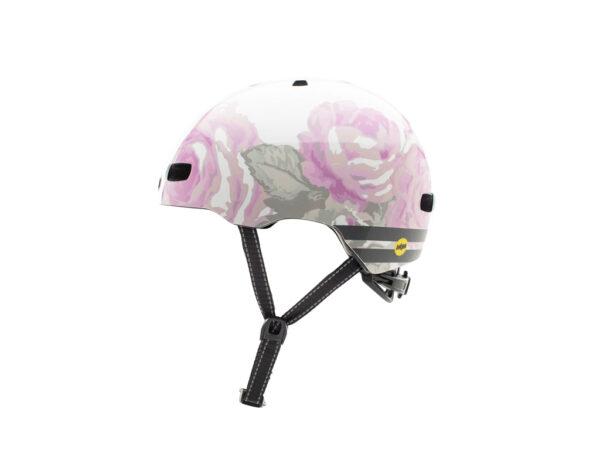 Nutcase - Street MIPS - Cykelhjelm med Skaterlook - Delecate Flower Reflective - 56-60 cm