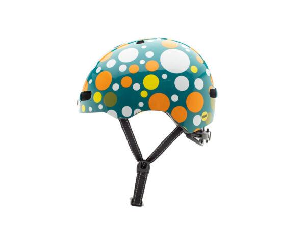Nutcase - Street MIPS - Cykelhjelm med Skaterlook - Polka Face Gloss - 56-60 cm