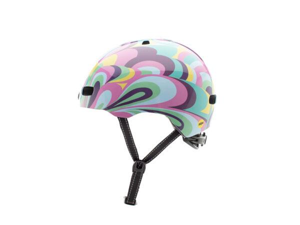 Nutcase - Street MIPS - Cykelhjelm med Skaterlook - Wavy Gravy Gloss - 56-60 cm