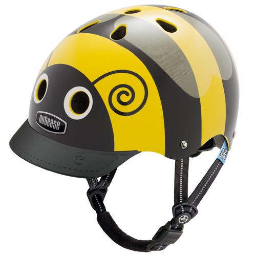 Cykelhjelm Nutcase Little Nutty GEN3, Bumblebee 48-52cm (XS)