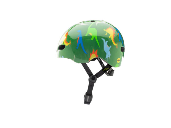 Nutcase - Baby Nutty MIPS - Cykelhjelm med skaterlook - Dino Mite - 47-50 cm