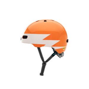 Nutcase - Little Nutty MIPS - Cykelhjelm med skaterlook - Lightnin' - 52-56 cm
