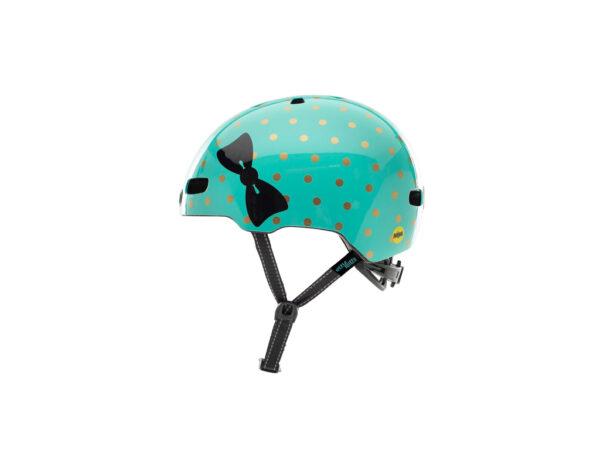 Nutcase - Little Nutty MIPS - Cykelhjelm med skaterlook - Sock Hop Gloss - 48-52 cm