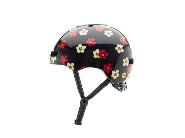 Nutcase - Street MIPS - Cykelhjelm med Skaterlook - Fun Flor-All Gloss - 56-60 cm