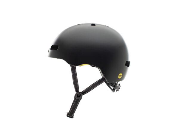 Nutcase - Street MIPS - Cykelhjelm med Skaterlook - Onyx Solid Satin - 56-60 cm