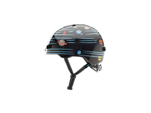 Nutcase - Little Nutty MIPS - Cykelhjelm med skaterlook - Defy Gravity Reflective - 48-52